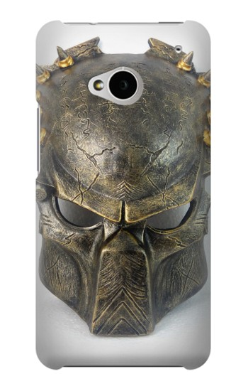 Printed Predator Mask HTC One M7 Case