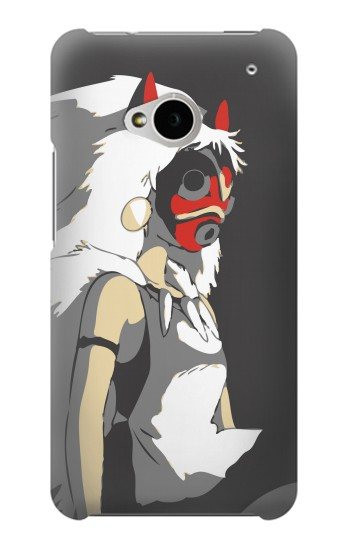 Printed The Spirit Princess Mononoke Hime HTC One M7 Case