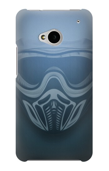 Printed Empire Event Paintball Mask HTC One M7 Case