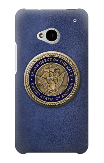 Printed US Navy HTC One M7 Case
