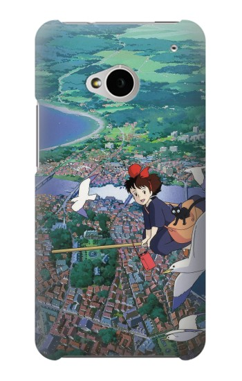 Printed Kiki Delivery Service HTC One M7 Case