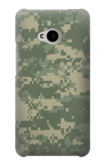 Printed Digital Camo Camouflage Graphic Printed HTC One M7 Case
