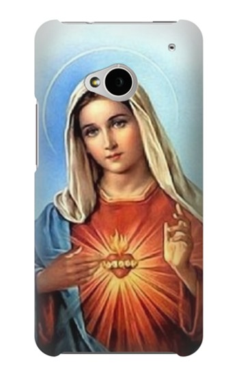 Printed The Virgin Mary Santa Maria HTC One M7 Case