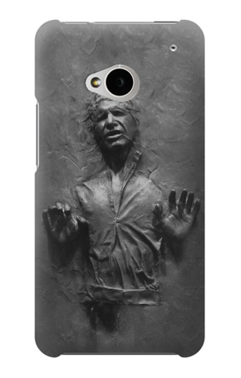 Printed Han Solo Frozen in Carbonite HTC One M7 Case