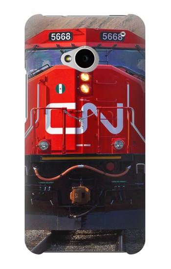 Printed Train Canadian National Railway HTC One M7 Case