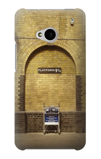 Printed Platform 934 London Railway Station HTC One M7 Case