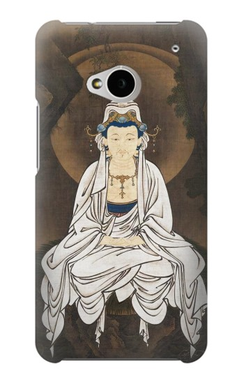 Printed Kano White Robed Kannon HTC One M7 Case