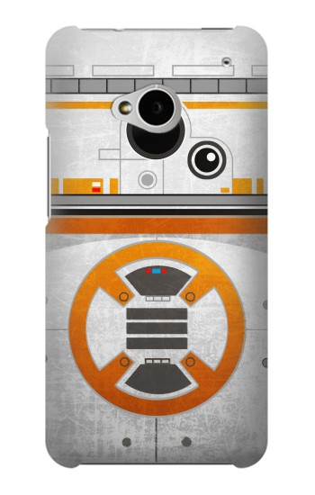 Printed BB-8 Rolling Droid Minimalist HTC One M7 Case