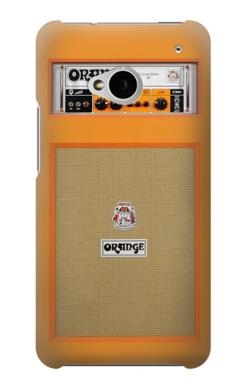 Printed Orange Amplifier HTC One M7 Case