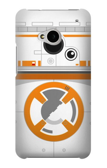 Printed BB-8 Droid Robot Minimalist HTC One M7 Case