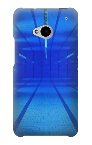 Printed Swimming Pool Under Water HTC One M7 Case