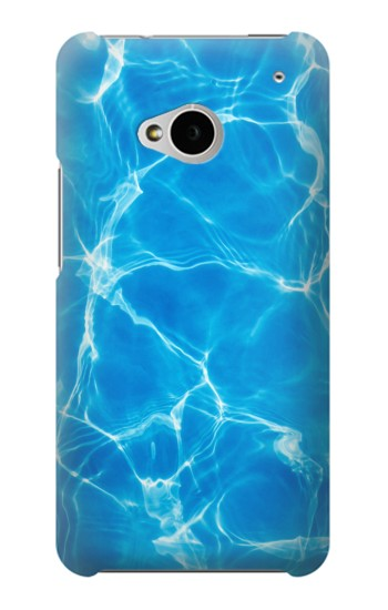 Printed Blue Water Swimming Pool HTC One M7 Case