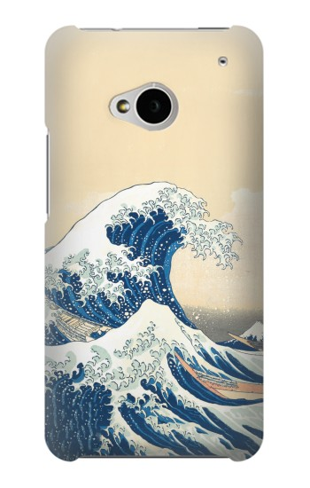 Printed Under the Wave off Kanagawa HTC One M7 Case