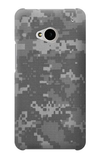 Printed Army White Digital Camo HTC One M7 Case
