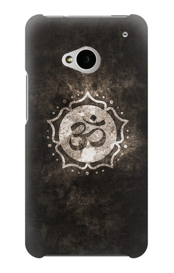 Printed Yoga Namaste Om Symbol HTC One M7 Case