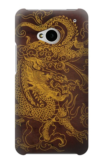 Printed Chinese Dragon HTC One M7 Case
