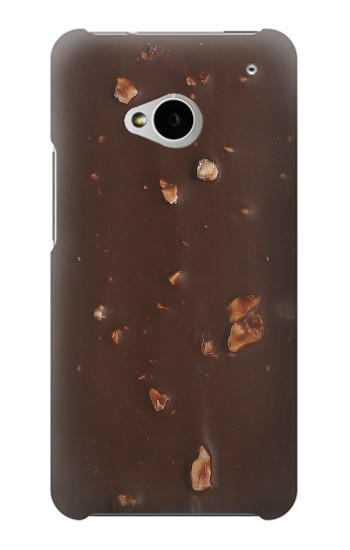Printed Chocolate Ice Cream Bar HTC One M7 Case