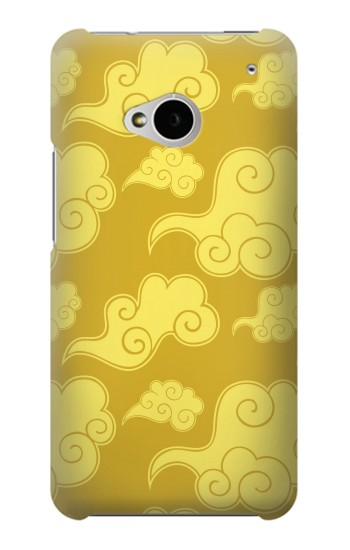 Printed Asian Clouds Pattern HTC One M7 Case