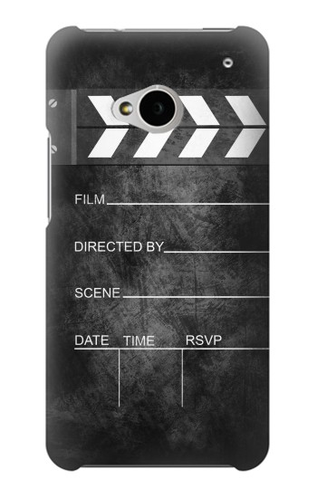 Printed Vintage Director Clapboard HTC One M7 Case