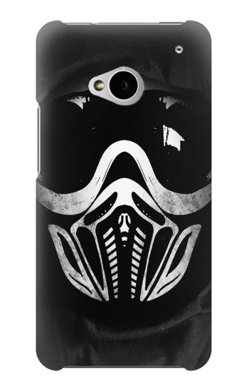 Printed Paintball Mask HTC One M7 Case