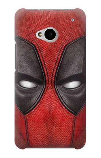 Printed Deadpool Mask HTC One M7 Case