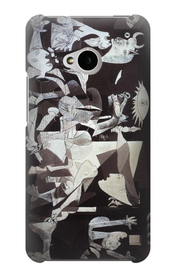 Printed Picasso Guernica Original Painting HTC One M7 Case