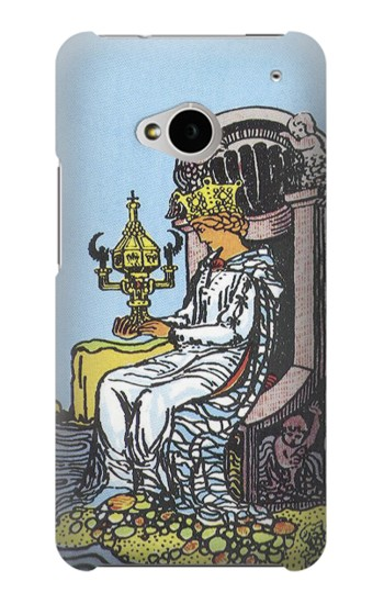 Printed Tarot Card Queen of Cups HTC One M7 Case