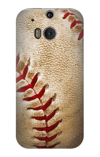 Printed Baseball HTC One M8 Case