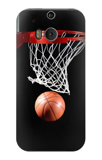Printed Basketball HTC One M8 Case
