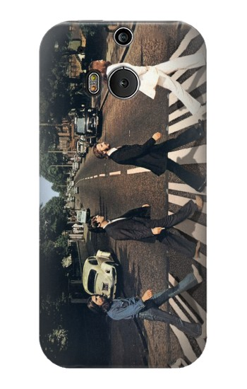 Printed The Beatles Abbey Road HTC One M8 Case