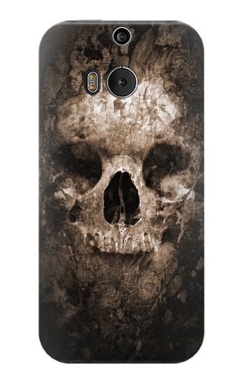 Printed Skull HTC One M8 Case