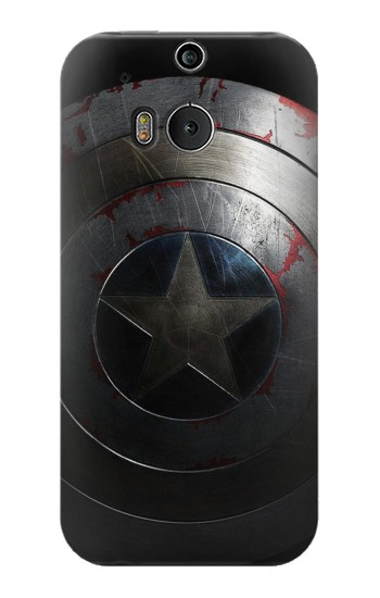 Printed Captain Shield HTC One M8 Case