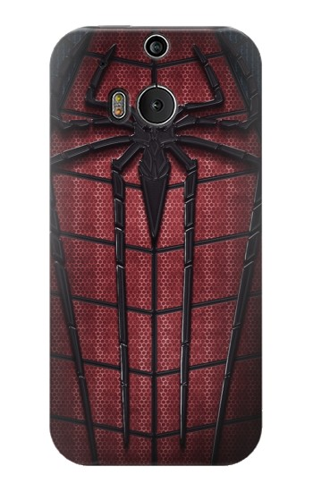 Printed Spider Suit HTC One M8 Case