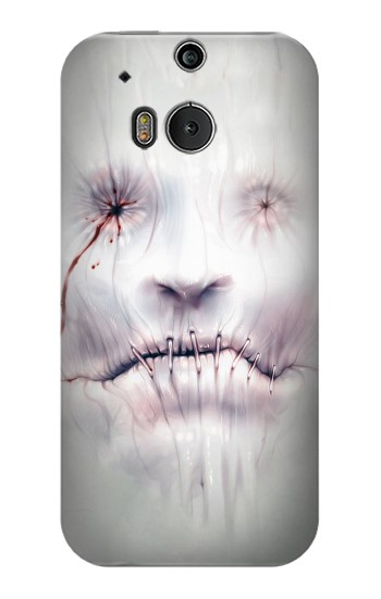 Printed Horror Face HTC One M8 Case
