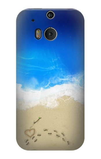 Printed Relax Beach HTC One M8 Case
