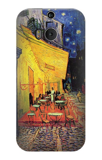 Printed Van Gogh Cafe Terrace HTC One M8 Case