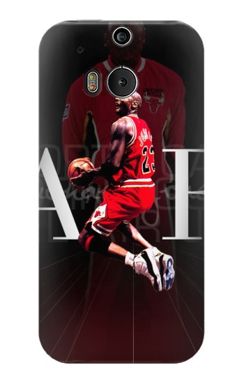 Printed Basketball Air Jordan HTC One M8 Case
