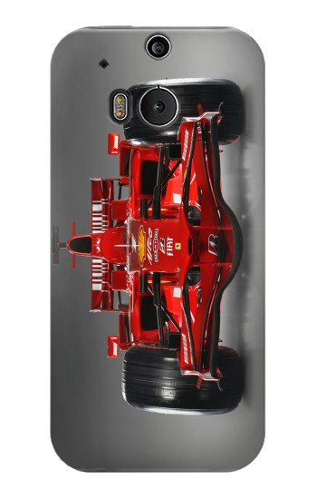 Printed Racing Car Formula One F1 HTC One M8 Case