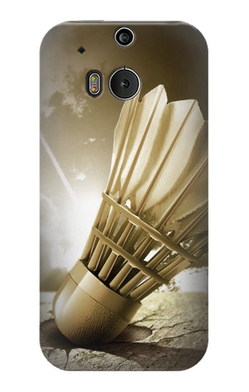 Printed Badminton Sport Art HTC One M8 Case