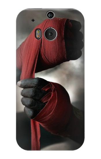 Printed Boxing Fighter HTC One M8 Case