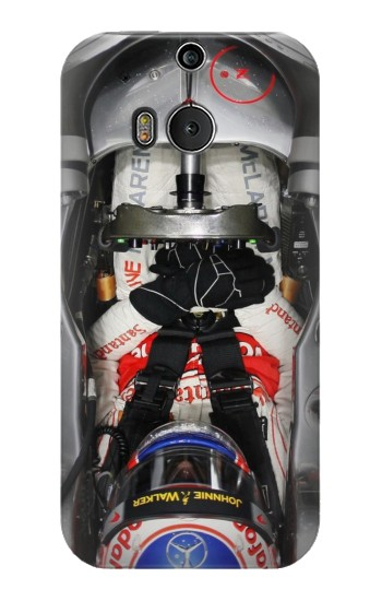 Printed Formula One F1 Cockpit HTC One M8 Case