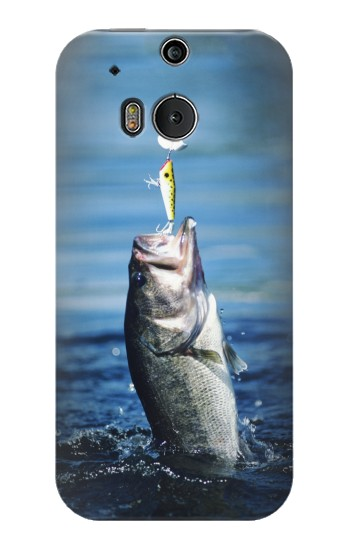 Printed Bass Fishing HTC One M8 Case