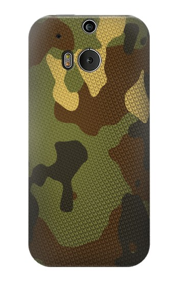 Printed Camo Camouflage Graphic Printed HTC One M8 Case
