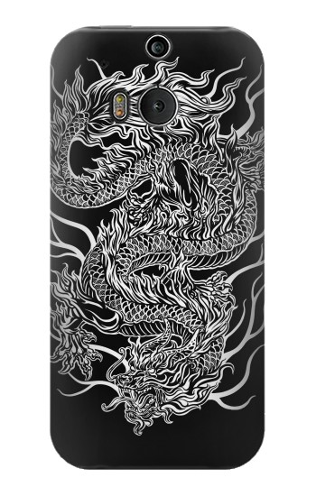 Printed Dragon Tattoo HTC One M8 Case