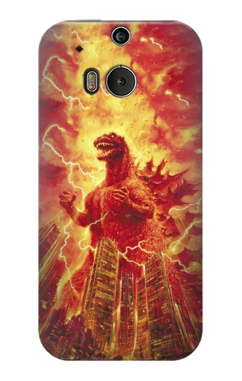 Printed Godzilla The Legend Is Reborn HTC One M8 Case