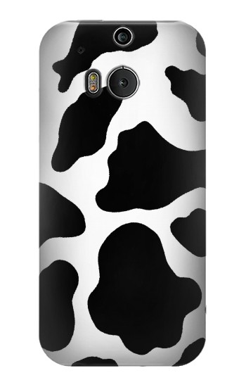 Printed Seamless Cow Pattern HTC One M8 Case