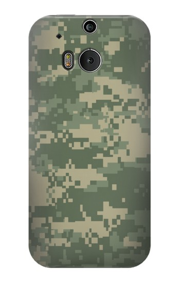 Printed Digital Camo Camouflage Graphic Printed HTC One M8 Case