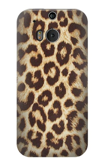 Printed Leopard Pattern Graphic Printed HTC One M8 Case