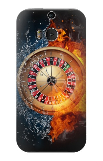 Printed Roulette Casino Gamble HTC One M8 Case