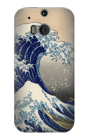 Printed Katsushika Hokusai The Great Wave off Kanagawa HTC One M8 Case